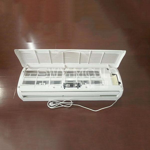 Molde de inyección de caja delantera de plástico para aire acondicionado