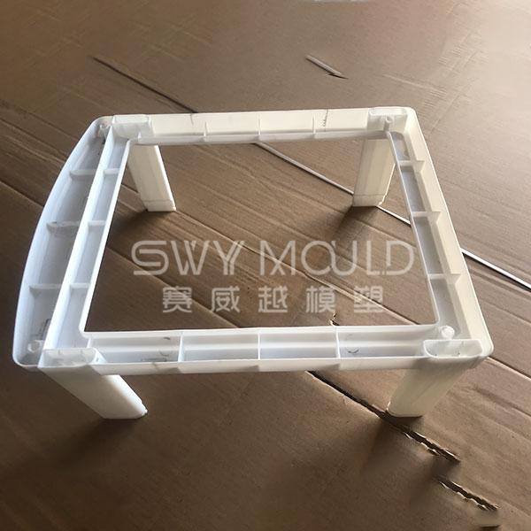 Molde de plástico de estante de productos básicos de baño