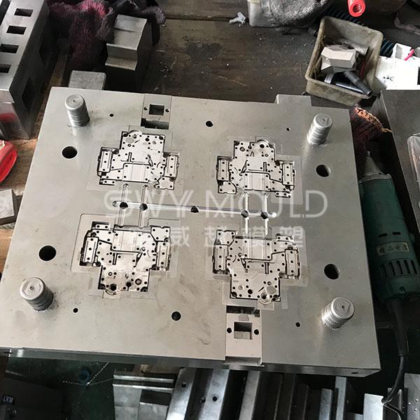 Molde de carcasa de plástico de interruptor C45