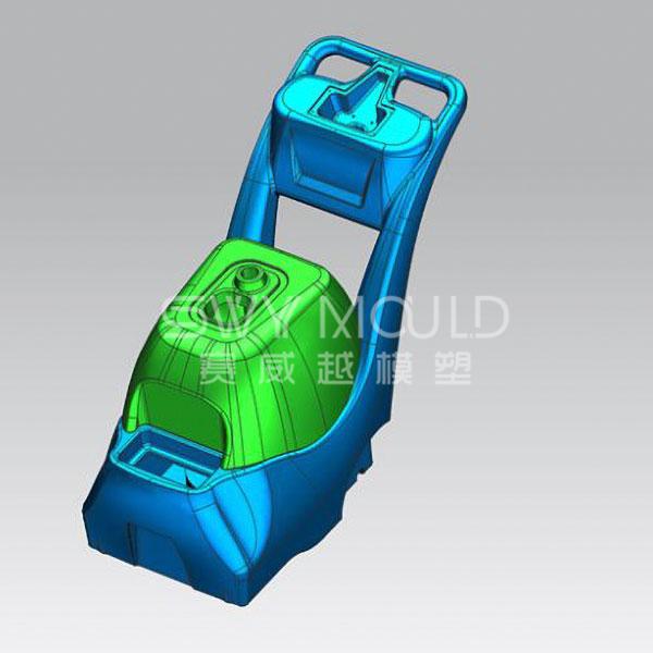 Molde de pieza de plástico colector de polvo