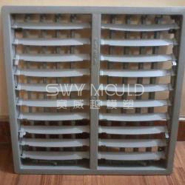 Molde de inyección de cubierta de plástico de ventilador de refrigeración industrial