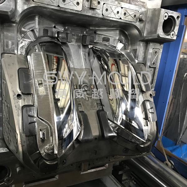 Molde de inyección de lámpara de automóvil OEM