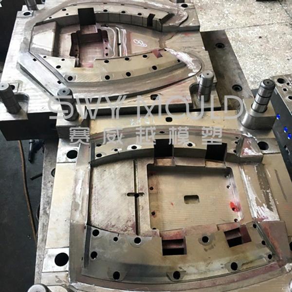 Molde de plástico para cejas de rueda de coche para vehículo reacondicionado