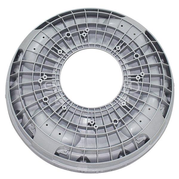 Molde de tina inferior de plástico para lavadora