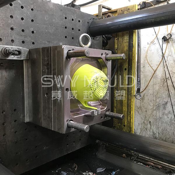 Molde de cesta de arroz de lavado de drenaje de plástico