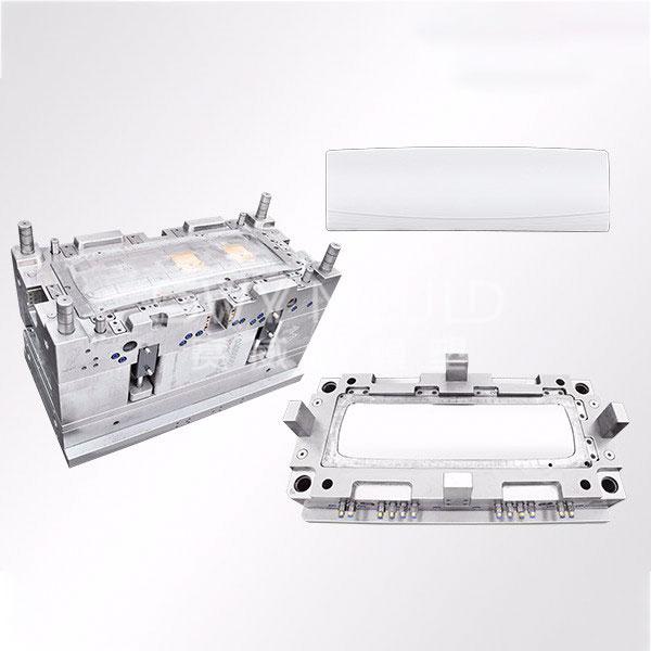 Moldura de cubierta frontal de plástico para aire acondicionado de montaje en pared