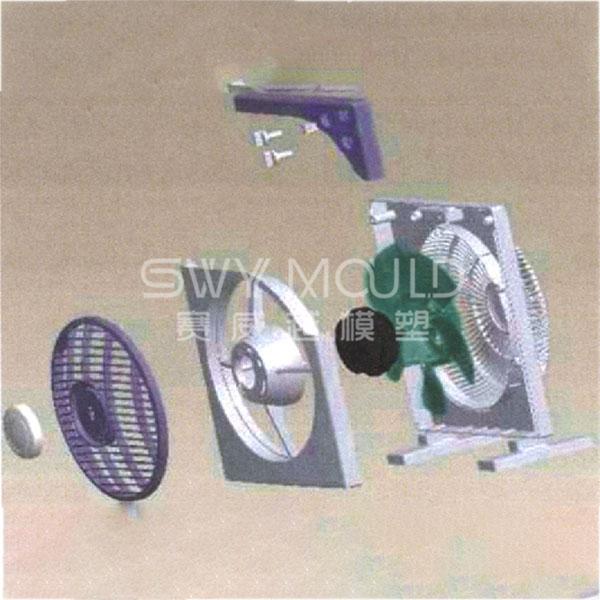 Molde de carcasa de plástico para ventilador eléctrico doméstico