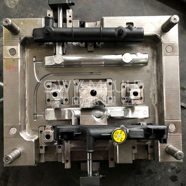 Molde de tanque de plástico para radiador automático