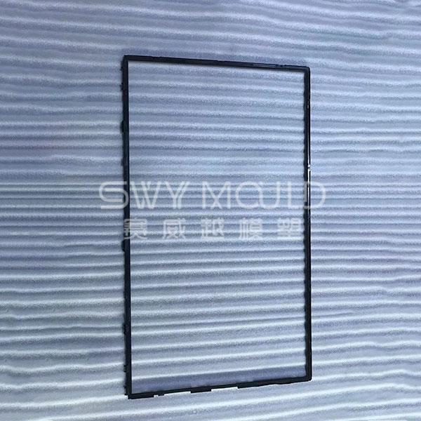 Moldeo por inyección de marco de televisión de plástico