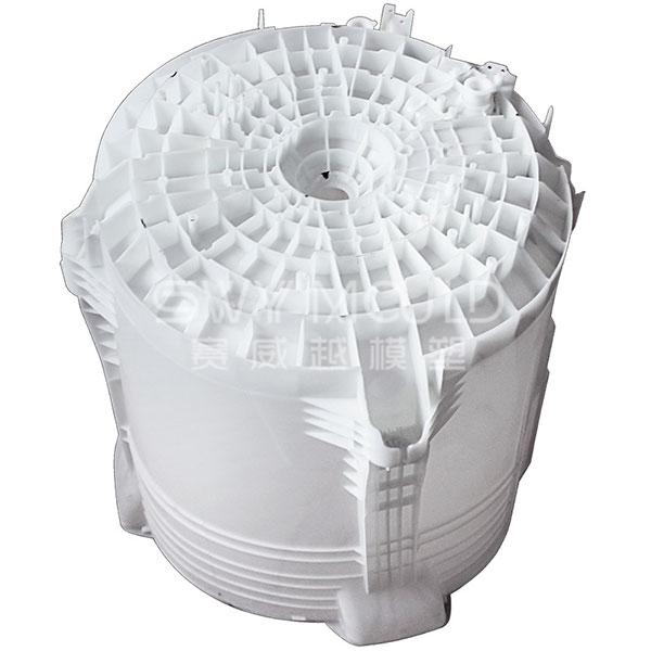 Molde plástico para tina de agua para lavadora