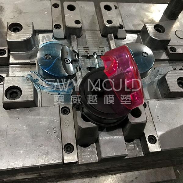 Molde de tapa de plástico para botella de agua portátil