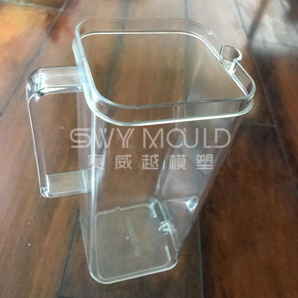 Molde de plástico de hervidor de forma cuadrada