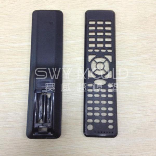 Molde de carcasa de control remoto de plástico de TV