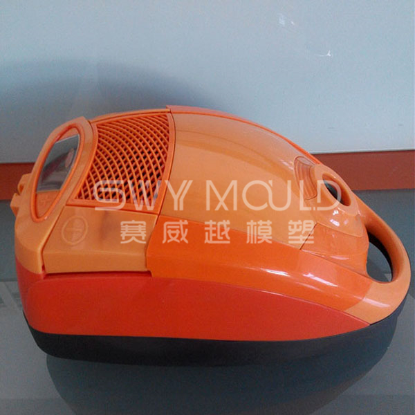 Molde de inyección de carcasa de plástico para aspiradora