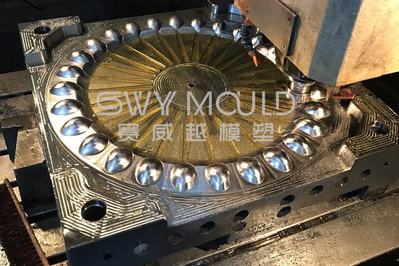 El proceso de mecanizado de moldes