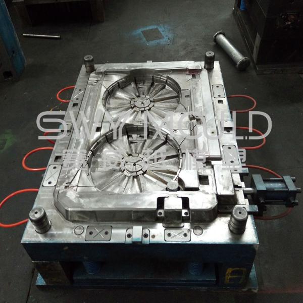 Ventilador eléctrico Molde de inyección de paletas de plástico