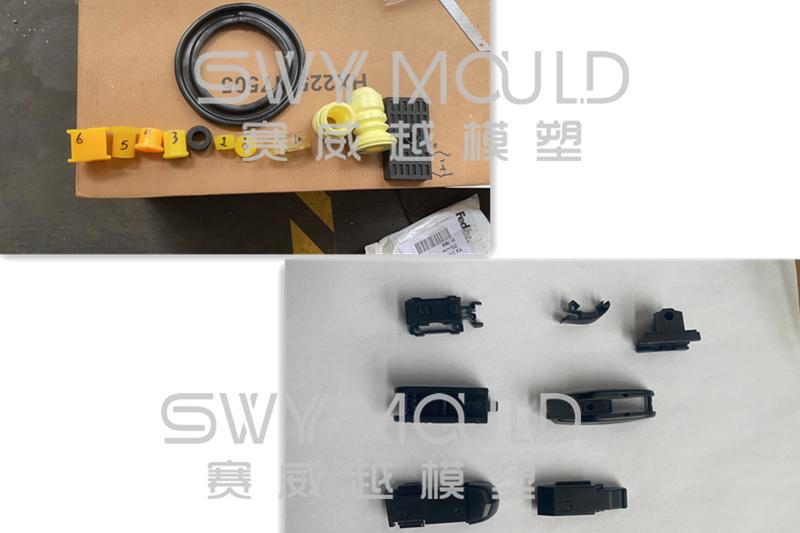 Nuevas muestras de moldes de inyección de plástico enviados por clientes de SWY